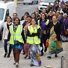 Volunteers walked from Kenton to Willesden
