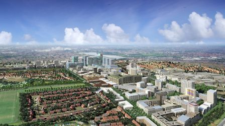 The Brent Cross Cricklewood scheme has attracted controversy