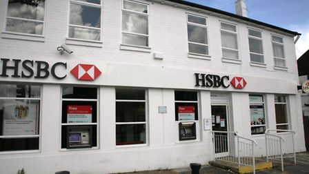 Robbers targeted HSBC in Ealing Road, Alperton, for the second time in a year