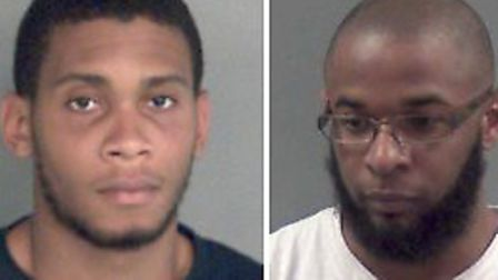 Jarome Parkinson will be sentenced in July, left, Kieron Wellington was jailed for 16 years