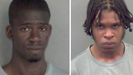 Wayne Stephenson and Keifer Hutchinson have both been jailed for 16 years