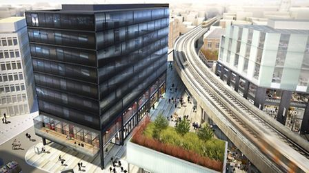 Shoreditch Village is set to be finished in 2015