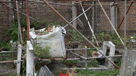Graves are in the midst of repair work at Kensal Green Cemetery