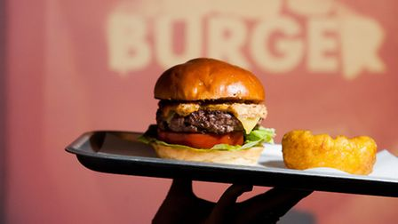The burgers come out to play from 5pm