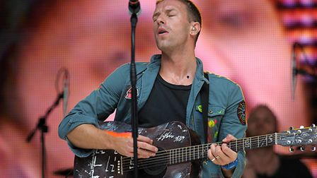 Coldplay one of the big names to have perfomred at the Emirates Pic: Tim Ireland/PA