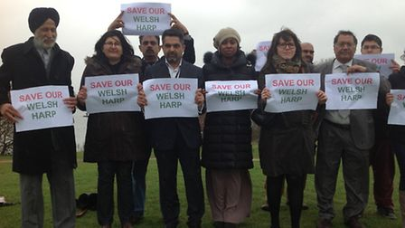 Brent councillors are against the development on the border of the Welsh Harp reservoir