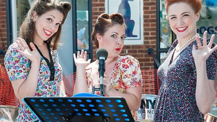 Cabaret singers at The Mayhew's annual open day event (pic credit: Yvonne White at White Gold Images