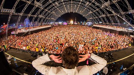 Last year's Electric Daisy Carnival in the USA