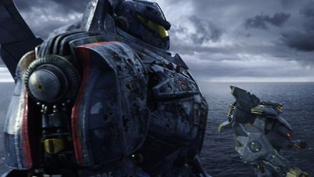 Pacific Rim - a shallow sci-fi romp. Pic: Courtesy of Warner Bros