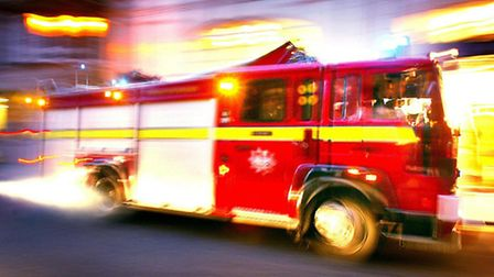 Fire crews rushed to the scene in Willesden