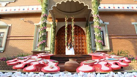 More than 11,000 people took part in the celebrations at Shree SwaminarayanTemple in Willesden