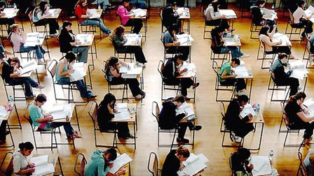 Pupils will receive their GCSE grades this morning.