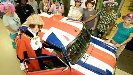 Disco fever afflicts Islington politicians Pic: Keith Emmitt