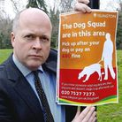 Cllr Paul Smith launched the dog squad last year