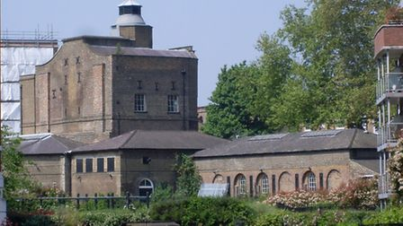 The Pump House at the head of the New River (Pic: Alec Forshaw)