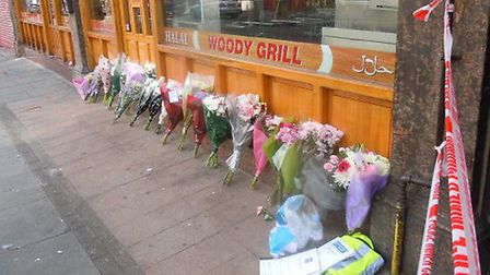 A vigil is taking place at the scene in Kilburn High Road today
