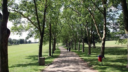 Teenage girl was attacked in Gladstone Park yesterday