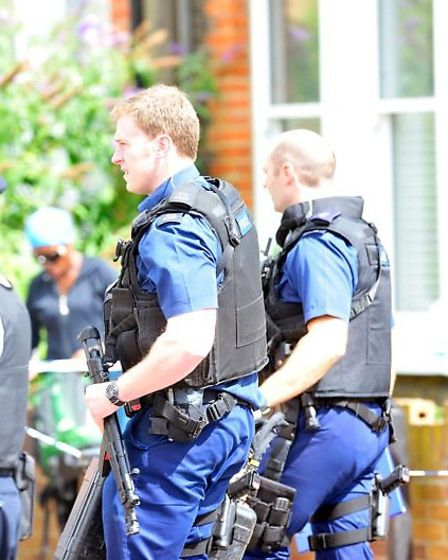 A man has been arrested following a hostage situation in Clifford Gardens (pic credit: ©Spread Pict