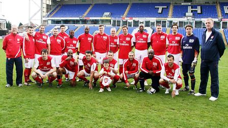Radio Northwick Park will take on a team of former Arsenal players and celebrities