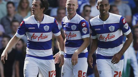 Karl Henry (right) says QPR have plenty of options in midfield this season