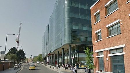 A drug addict was convicted of burglary after he took heroin in The Guardian newspapers office in K