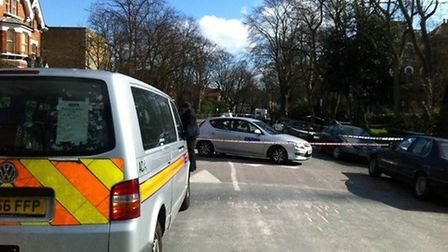 Aberdeen Park in Highbury was closed for several hours after the incident on Tuesday, March 12