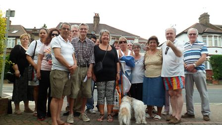 Angry Willesden residents met with council officers to demand action over speed bumps