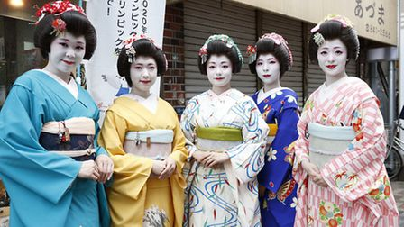 Geisha girls are a part of Japanese culture (Pic credit:: Sunny Side Up)