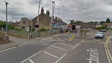 There is heavy traffic in Oulton Broad after an earlier level crossing on Victoria Road. Picture: Go