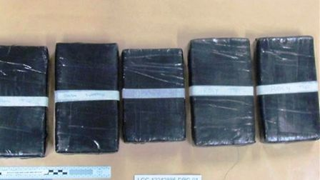 Officers recovered 45 kilogrammes of cocaine