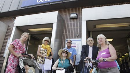 Members of Queens Park Area Residents' Association are petitioning for a lift at Queens Park station