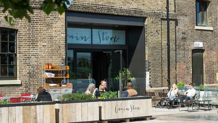 The Grain Store in in the refurbished Granary Building Pic: Amy Murrell