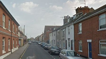 Two people were arrested after 70 wraps of class A drugs were found in Tennyson Road, Lowestoft. Pho