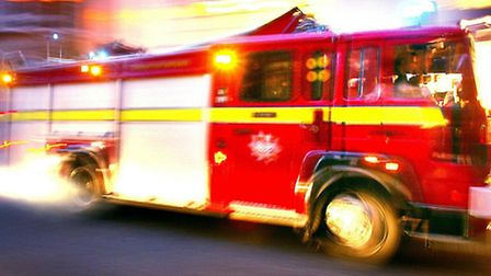 Fire crews were called to a blaze in Cricklewood