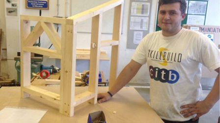 Matthew Westhead has won a place in the finals of SkillBuild 2013