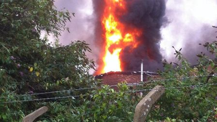 Fire crews are fighting blaze in Park Royal (Pic credit: Twitter@LondonFire)