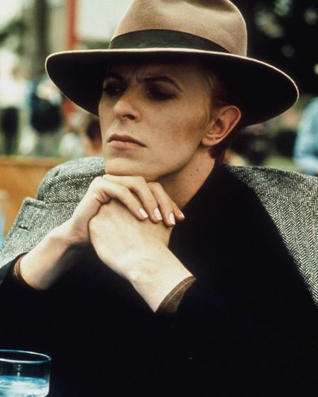 Bowie man who fell to earth