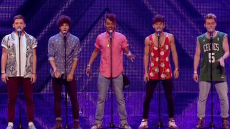 Kingsland in their X Factor bootcamp performance