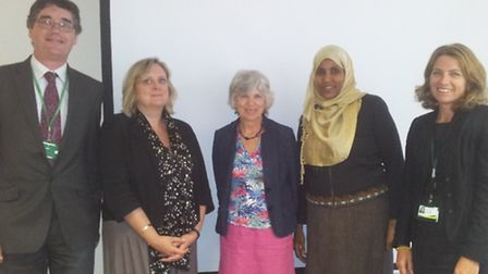 Housing and Health Chiefs meet on Andover Estate
