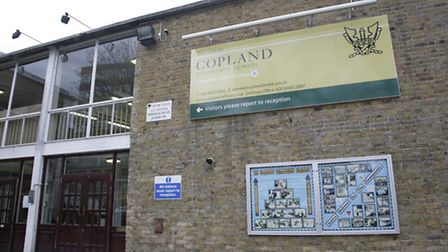 Copland Community School is in Cecil Avenue, Wembley