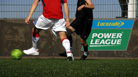 A five-a-side football match in aid of disabled war veterans will take place in Wembley,