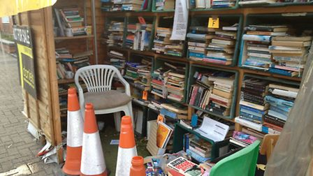 Andrew Gillick claims the pop up library is illegal