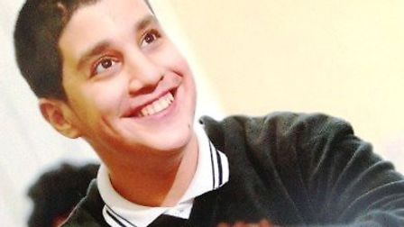 Chopi Saib insist her son Nihal, pictured, should be given a place at West London Community College