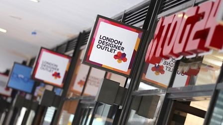 The London Designer Outlet attracted 85,000 shoppers in four days (Pic credit: Oliver Dixon)