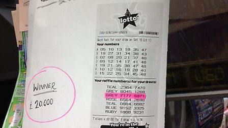 One lucky punter bought £20,000 ticket in Highbury