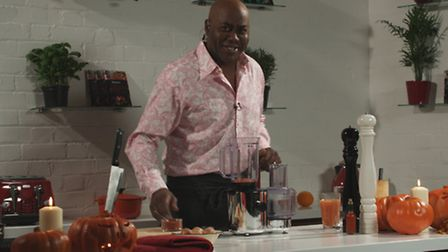 TV chef Ainsley Harriot who plays a part in the film