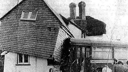 Old Park Lodge was involved in a bus accident in September 1973 (Pic credit: Wembley History Society