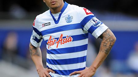 Jermaine Jenas was on target for QPR against Derby County