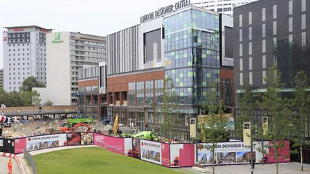 London Designer Outlet will open its doors today (Pic credit: Jan Nevill)