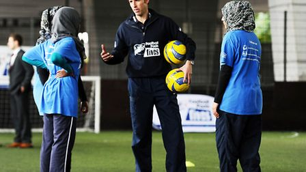 Gareth Southgate offers his advice to the youths